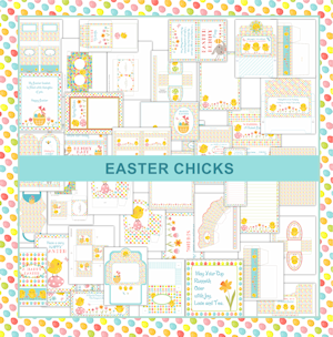 Easter Chicks Printables